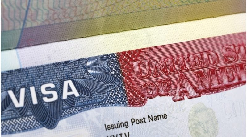 Estados Unidos suspension visa